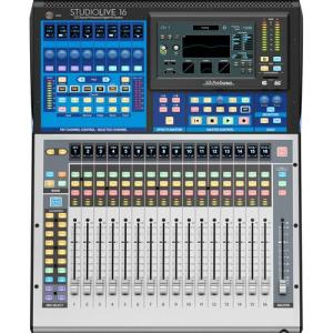 FREE SHIPPING! PreSonus StudioLive 16 Series III Digital Mixer - 16-Channel Digital Console/Recorder