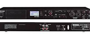 Tascam SD-20M 4 Track Solid State Recorder With Microphone Inputs