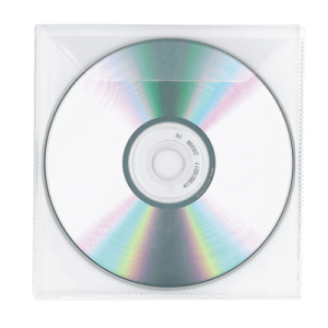 Clear Plastic Protective Disc Sleeves