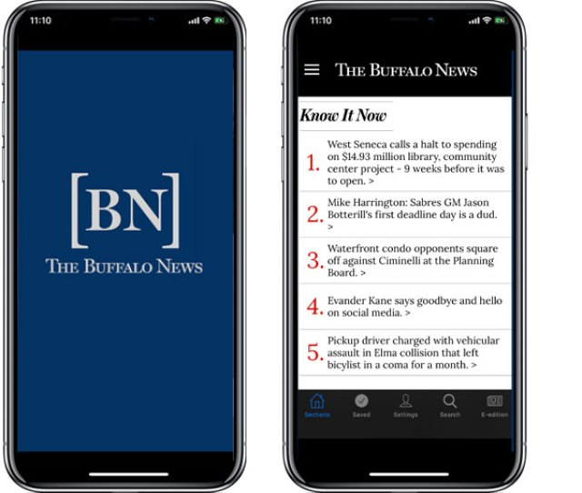 Buffalo News App For Ipad Iphone Android And Kindle