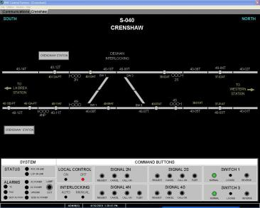 Local Control Panel Screenshot 1 | B&C Transit Inc.