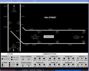 Local Control Panel Screenshot 2 | B&C Transit Inc.
