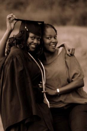 She made it :-) Lifelong friend Rose :-)