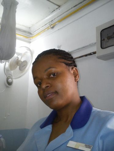 My favorite nurse Gugu Ncube