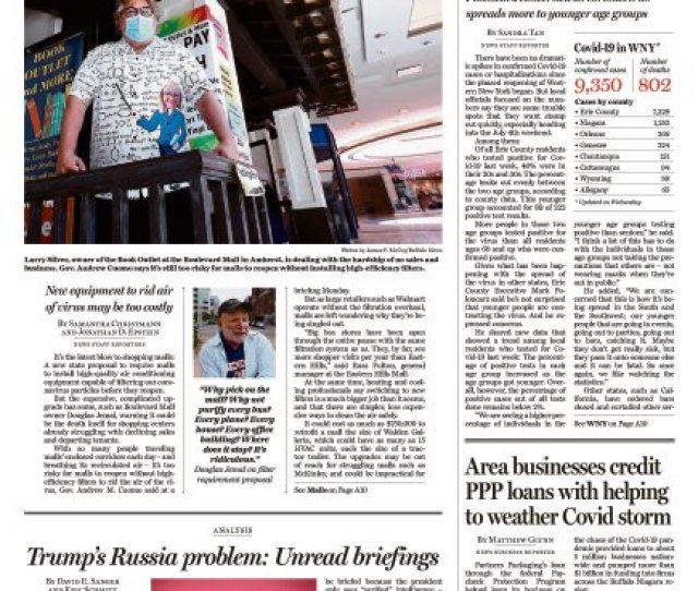 View A Digital Replica Of Todays Paper