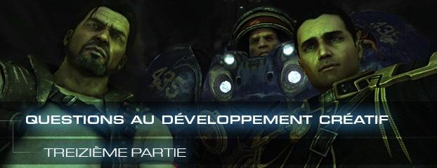 Questions au développement créatif de StarCraft II – treizième partie