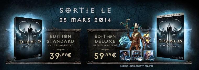 Reaper of Souls sortira le 25 mars 2014 : précommandez dès aujourd'hui !