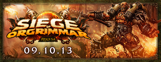 Preparing for Patch 5.4: Siege of Orgrimmar