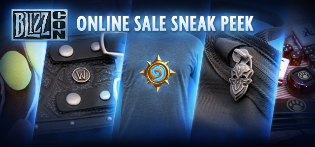 BlizzCon Merchandise Sale Coming Oct. 11—Get a Sneak Peek Now!