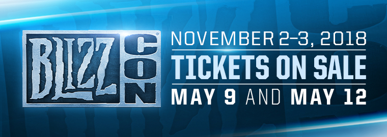 Get Ready For BlizzCon 2018 BlizzCon 2018
