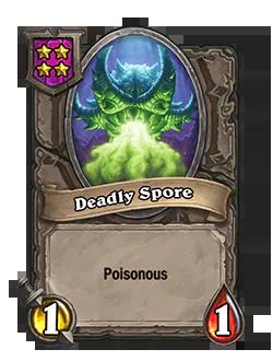 DeadlySpore pictured