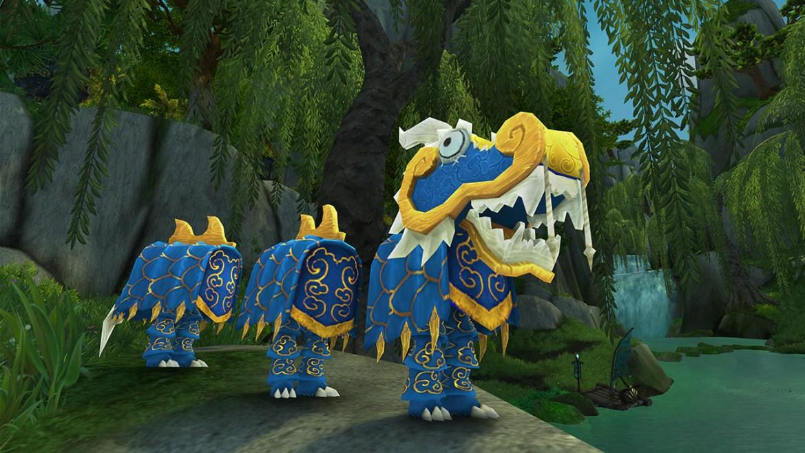Costume da Drago Blu