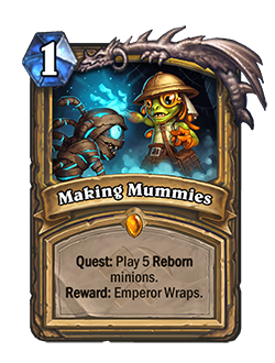 Hearthstone: August 1st patch notes set the stage for Saviors of Uldum, nerfs to Quest Rogue