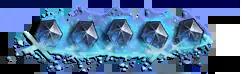 Imagen de pie de página de cristales de maná