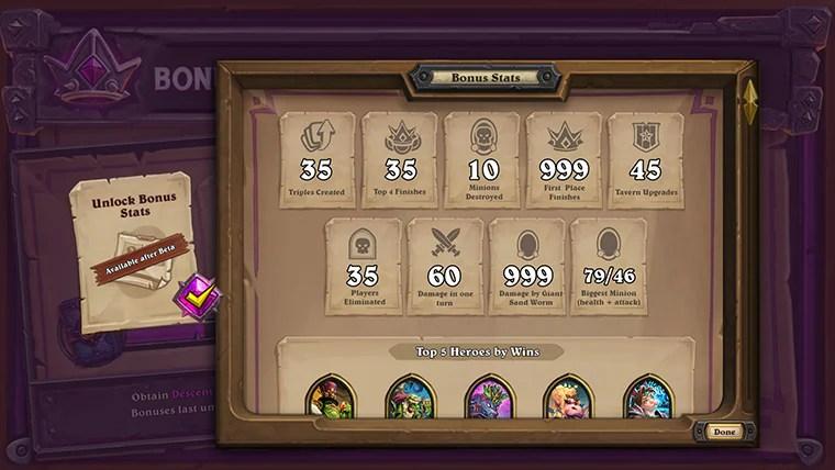 Otterrai l'accesso a statistiche dettagliate riguardo alle tue prestazioni in modalità Battaglia (accessibili nella schermata di coda della Battaglia)