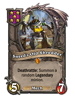 Sneed's Old Shredder