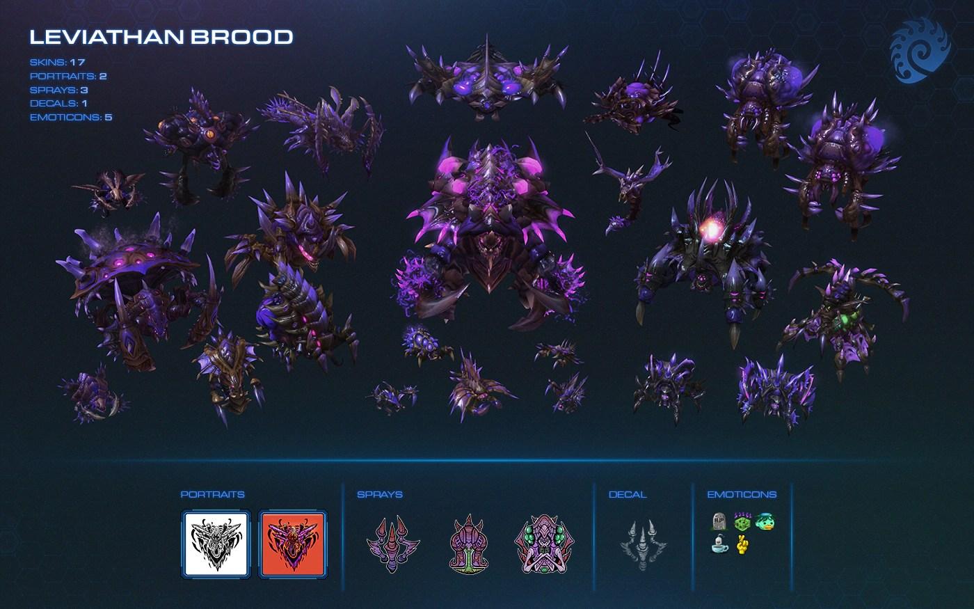 Resultado de imagen de leviathan brood starcraft