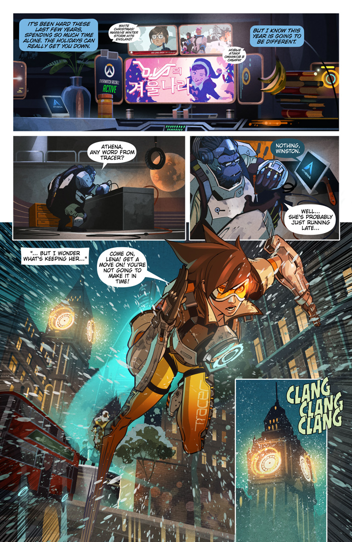 Overwatch Digital Comic Reflections News Overwatch