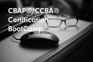 CBAP®/CCBA® Certification BootCamp