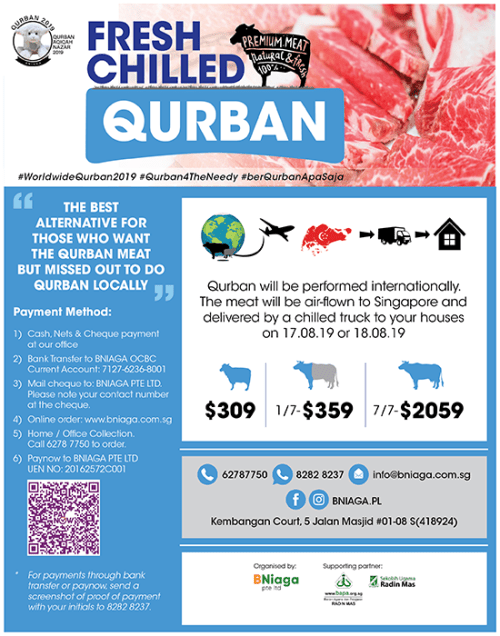 Qurban – Fresh Chilled