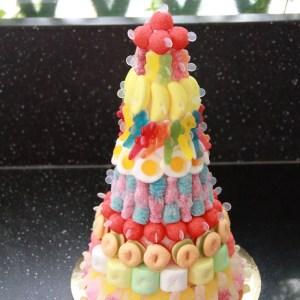 Pyramide de bonbons
