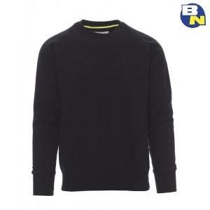 Abbigliamento-Antinfortunistica-felpa-girocollo-nera