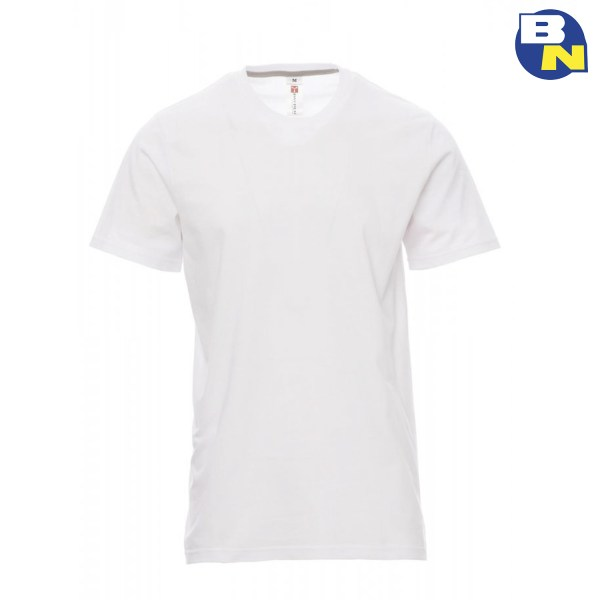 Abbigliamento-Antinfortunistica-t-shirt-manica-corta-bianca