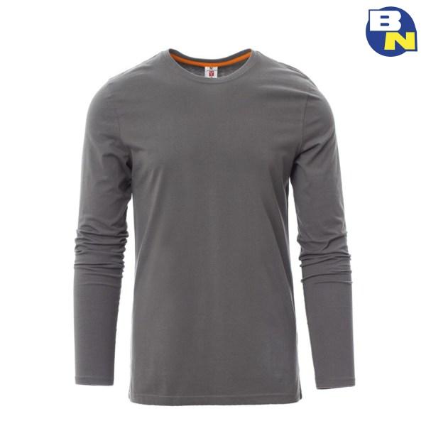 Abbigliamento-Antinfortunistica-t-shirt-manica-lunga-grigio