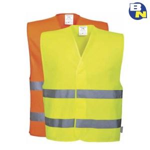 Abbigliamento-Pro-gilet-ad-alta-visibilità-con-due-bande