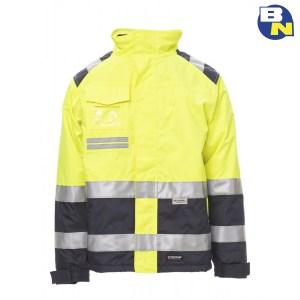 Abbigliamento-Pro-giubbino-imbottito-alta-visibilità-giallo