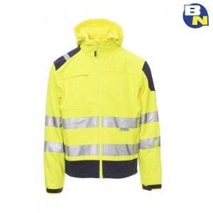 Abbigliamento-Pro-softshell-ad-alta-visibilità-giallo