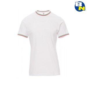 t-shirt italia bianca
