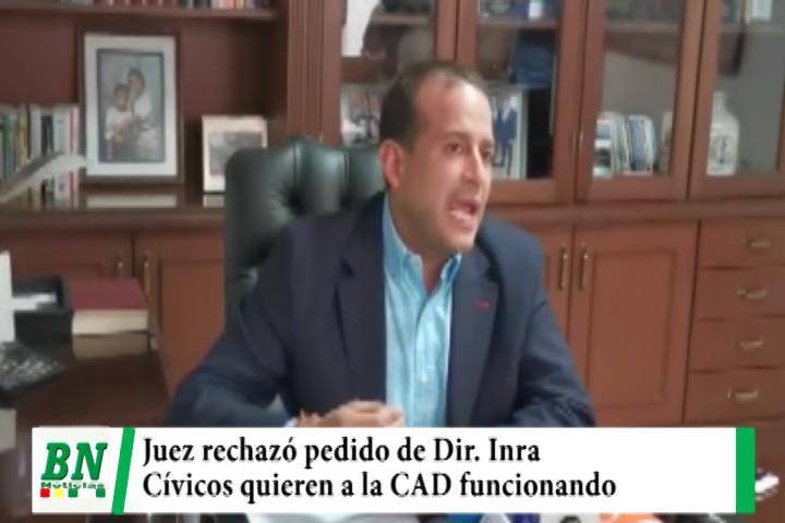 Imana del Inra posesionado con imputación, Cívico denuncia director niega ocultar, juez rechaza anulación