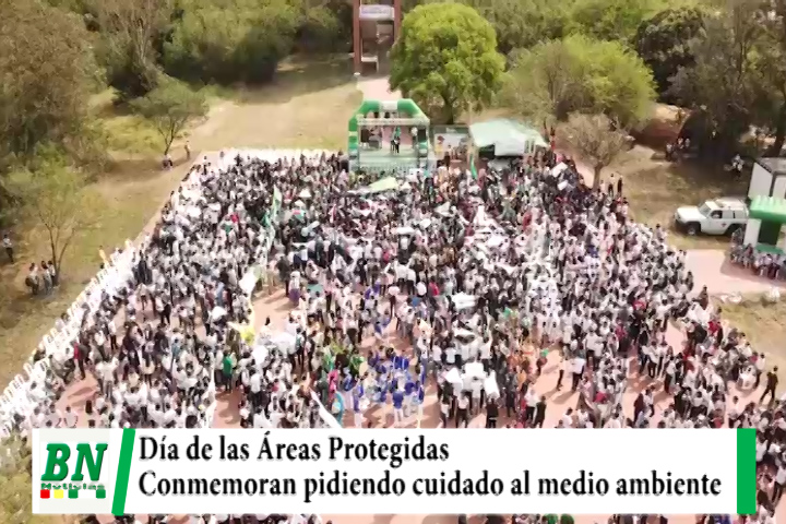 Estudiantes conmemoran junto a Gobernación Día de las Áreas protegidas, ven descuido del Gobierno