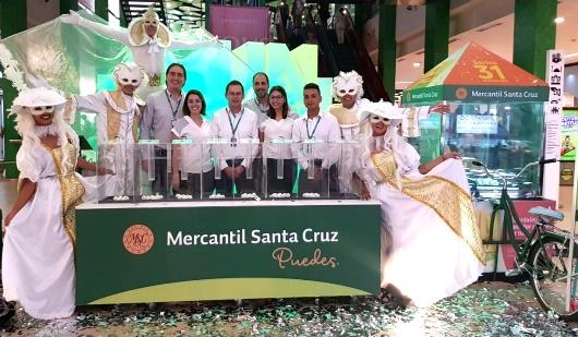 BMSC: Culmina un exitoso año premiando con 1 millón de bolivianos a una afortunada ganadora de La Paz