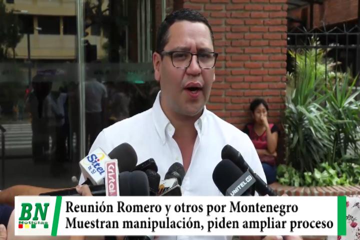 Caso Montenegro, Reunión entre Romero y otros muestra manipulación de justicia y piden ampliar denuncias