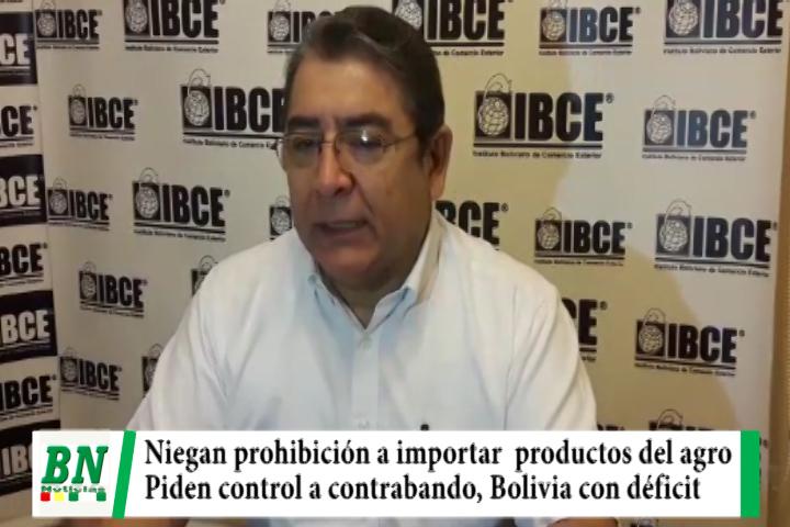 IBCE y CAO niegan que haya prohibición de comerciar productos agropecuarios entre Bolivia y Perú