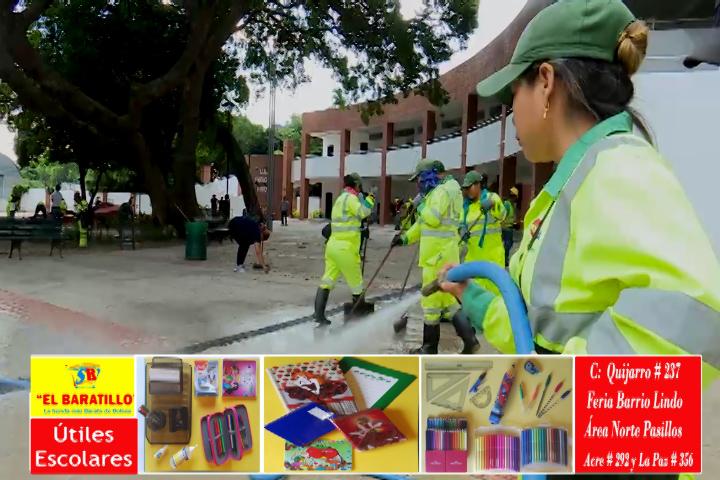 Alcaldía con 95% de avance y garantiza Módulos Educativos refaccionados antes del inicio de clases