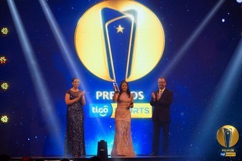 Los mejores deportistas del país fueron reconocidos en los Premios Tigo Sports