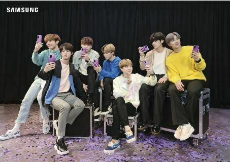 """Edición limitada de Samsung """"S20+"""" y """"Buds+"""" llega a Bolivia con colores de las estrellas del K-pop: BTS"""