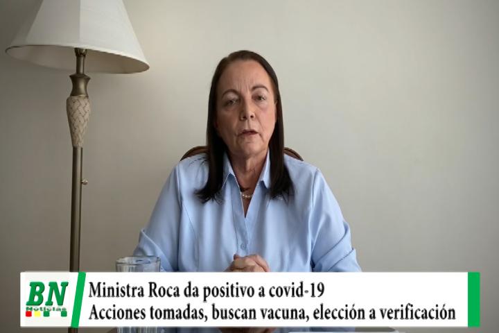 Alerta coronavirus, Ministra dio positivo e informa de acciones, negocian compra de vacuna y piden a comité científico vea elección