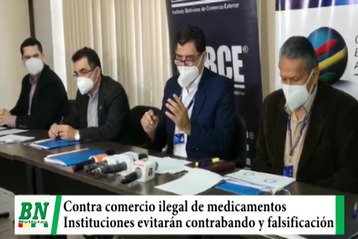 Instituciones se unen contra el contrabando y falsificación de medicamentos y la venta ilegal por el covid-19