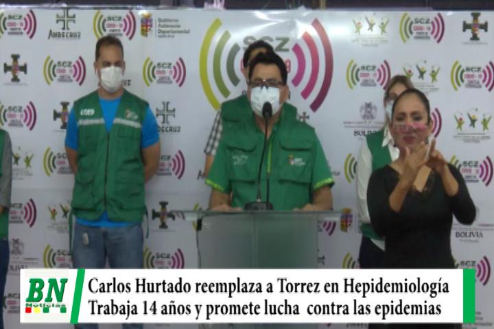 Carlos Hurtado reemplaza a Torrez en Hepidemiología bajo la promesa de combatir las epidemias