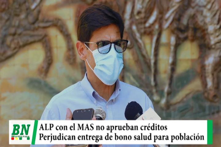 El MAS en ALP no aprueba créditos para financiar bono salud y MDS ve perjuicio