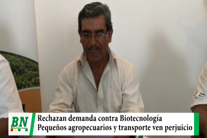 Pequeños productores del agro y transporte pesado en emergencia por Biotecnología, ven perjuicio