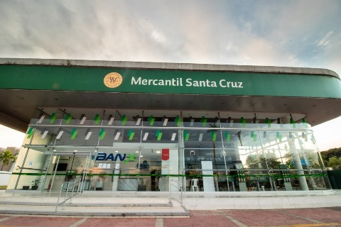 Durante el confinamiento el Banco Mercantil Santa Cruz registró más de 30 millones de transacciones, el 93% fueron efectuadas en canales digitales