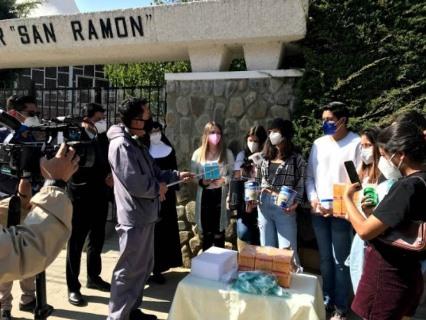 El Interact Club San Jorge hizo una importantedonación para el hogar de ancianos San Ramón