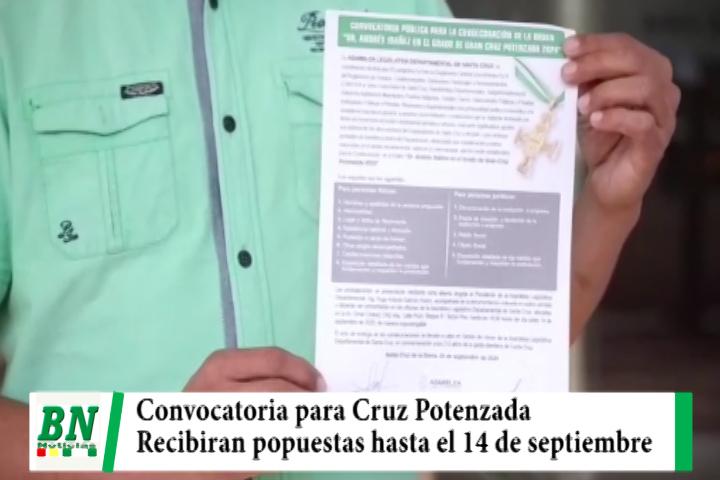 ALD lanza convocatoria para entrega de Cruz Potenzada, propuestas se recibirán hasta el 14
