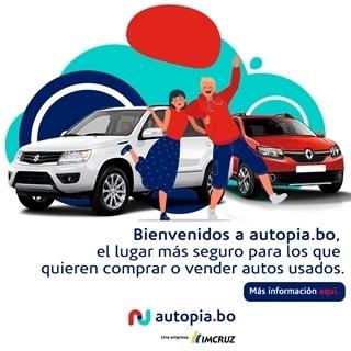 Imcruz lanza Autopia.bo, marketplace para la compra y venta de autos usados