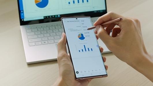 5 momentos en los que el S Pen eleva la productividad del usuario de Galaxy Note20